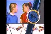 تیزر تبلیغاتی ساعت های فسیل در سال 1991 میلادی