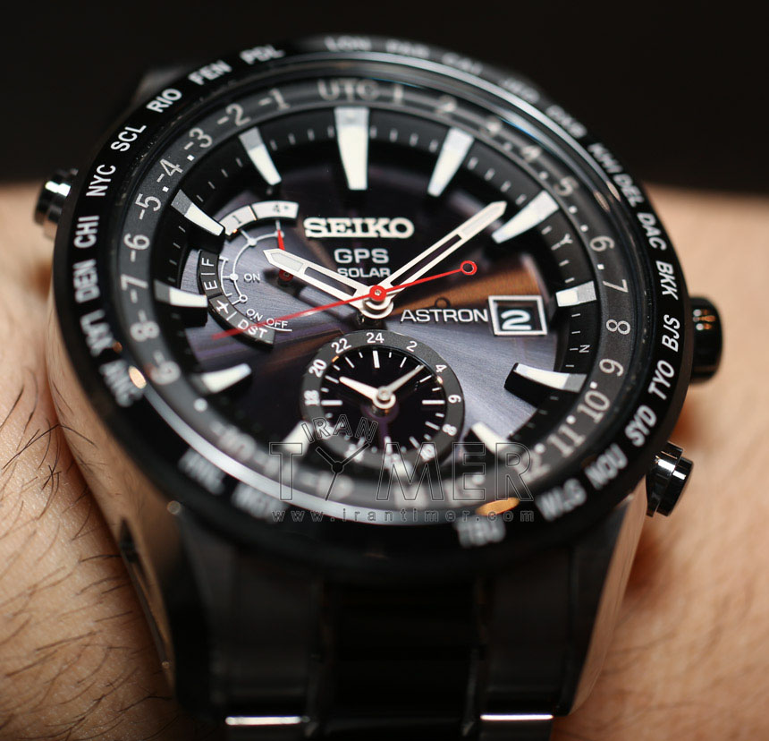 Seiko astron gps 2013 watch irantimer