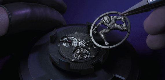 ساعت مچی اسکلتون با طراحی شاهزاده تیچالا