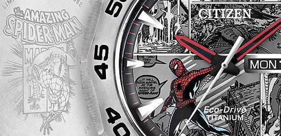 سالگرد مارول و اسپایدرمن با ساعت های سیتیزن
