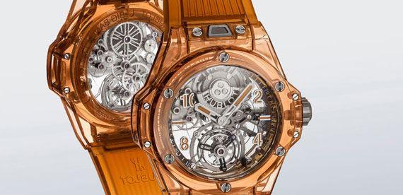 جدیدترین ساعت مچی با بدنه یاقوت کبود از هابلوت