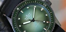 تاثیر رنگ سبز در ساعت