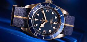 آبی رنگ نوستالژی در ساعت مچی های Tudor