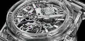 جدیدترین ساعت مچی هابلوت با ظاهری شیشه و از جنس یاقوت