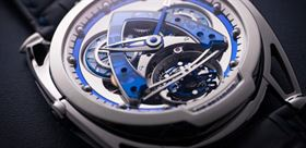ساعت مچی با طراحی آینده نگارانه