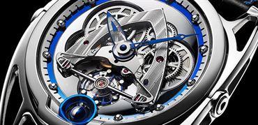 معرفی ساعت اسکلتون DB28 چرخ استیل از دیبِتونا (De Bethune DB28 Steel Wheels )