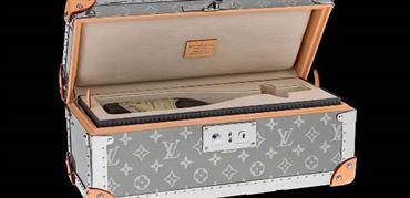 معرفی صندوقچه تیتانیومی و روتنیمی برای نگهداری ساعت لویی ویتون: