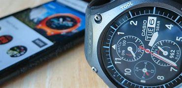نحوه کارکرد ساعت هوشمند کاسیو WSD-F10