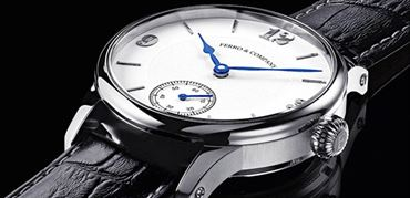 ساعت رسمی مکانیکی سوئیسی کوک دستی تولید محدود از فِرو (Ferro & Co)