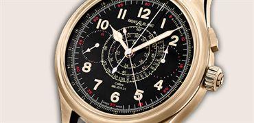 کرونوگراف مون بلانک  1858 (Montblanc 1858 split second chronograph)