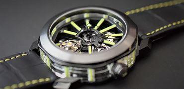 ساعت اوکتو توربیلون سفایر از بولگاری (Bulgari Octo Tourbillon Sapphire)
