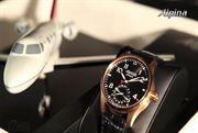 ساعت رز گلد آلپینا (Alpina Watches Startimer Manufacture)
