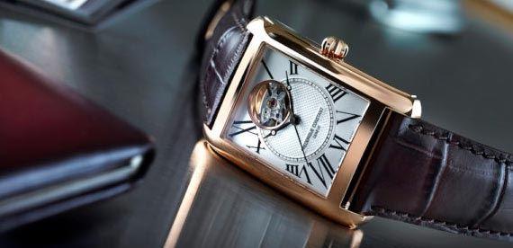 ساعت چهارگوش اتوماتیک کلاسیک فردریک کنستانت