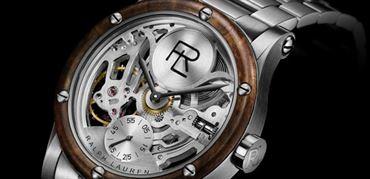 ساعت استیل اتوماتیک اسکلتون از رالف لورن (Ralph Lauren)
