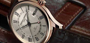 معرفی ساعت کلاسیک اتوماتیک GMT با صفحه جدید از برند فردریک کنستانت