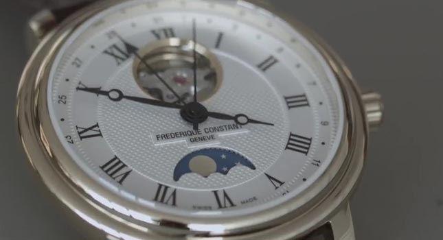 ساخت ساعتهای لاکچری فریدریک کنستانت