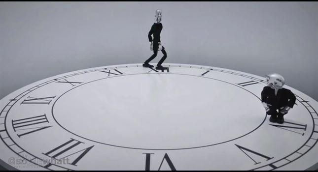 انیمیشن جالب و مفهمومی با محوریت ساعت
