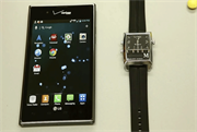 Pairing Martian Voice Command Watch with LG Intuition Android Phone