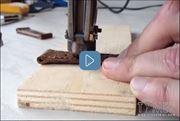 ساخت بند چرمی دستی ساعت های مچی