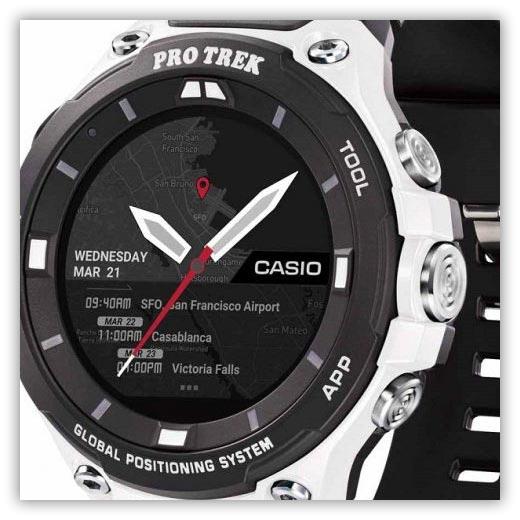 ساعت تولید محدود پروترک WSD-F20WE از کاسیو