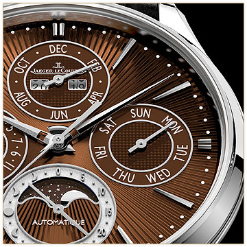 Jaeger-LeCoultre unveil the Master Ultra Thin Perpetual Enamel Chestnut
