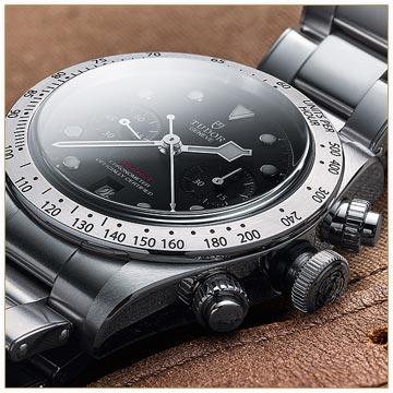 The Tudor Heritage Black Bay Chronograph
